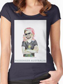 Christmas Passenger Australia T-shirt Women's Fitted Scoop T-Shirt