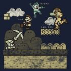 Mega Man Joins The Battle! by Rodrigo Marckezini