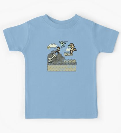 Mega Man Joins The Battle! Kids Tee