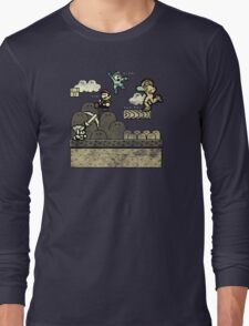 Mega Man Joins The Battle! Long Sleeve T-Shirt