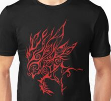 Red Wicked Clown tribal Unisex T-Shirt
