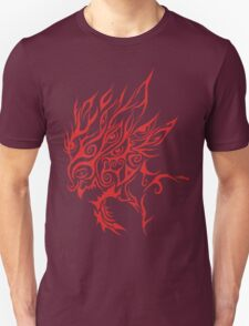 Red Wicked Clown tribal T-Shirt