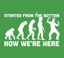 Started From The Bottom Baby Tee