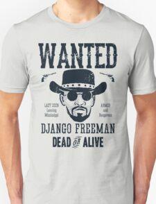 Django Wanted Unisex T-Shirt
