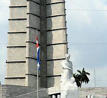 Plaza de la Revolution by Maggie Hegarty