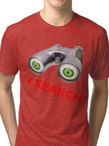 binocular device - i search Tri-blend T-Shirt