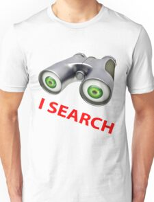 binocular device - i search Unisex T-Shirt