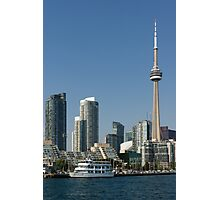 Up Close And Personal - Toronto's Skyline From The Harbour Photographic Print