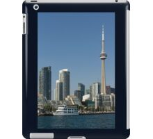 Up Close And Personal - Toronto's Skyline From The Harbour iPad Case/Skin