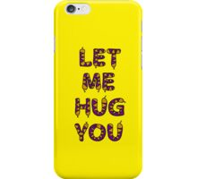Snake hug iPhone Case/Skin