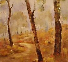 Bush walk  by Sue Anderson