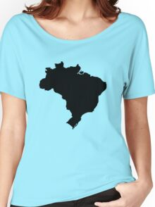 Map of Brazil Women's Relaxed Fit T-Shirt