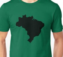 Map of Brazil Unisex T-Shirt