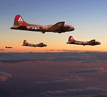 B17- 511 Sqdn - A Winter's Tale by Pat Speirs