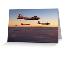 B17- 511 Sqdn - A Winter's Tale Greeting Card