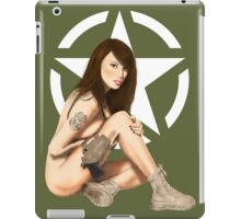 US Army MP Pinup Star iPad Case/Skin