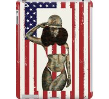 US Marines Salute iPad Case/Skin