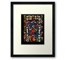 John de Charleton 1268-1353 Framed Print