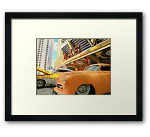Classic Rides of  Las Vegas ! Framed Print