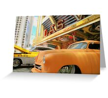 Classic Rides of  Las Vegas ! Greeting Card