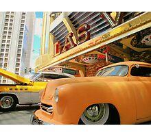 Classic Rides of  Las Vegas ! Photographic Print