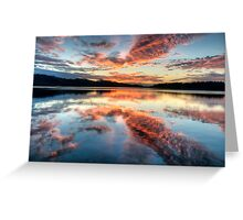 Morning Grace - Narrabeen Lakes NSW - The HDR Experience Greeting Card