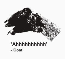 Goat scream by joshbuckling