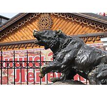 Bear in Yaroslavl Photographic Print