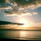 Burnham-on-Sea - Sunset #2 by Antony R James