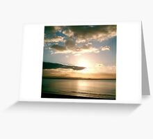 Burnham-on-Sea - Sunset #2 Greeting Card