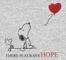 Snoopy - There is always hope by LanFan