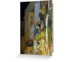 Little Mary In Senglea Greeting Card