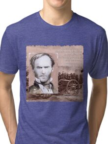 General Sherman on the Offensive Tri-blend T-Shirt