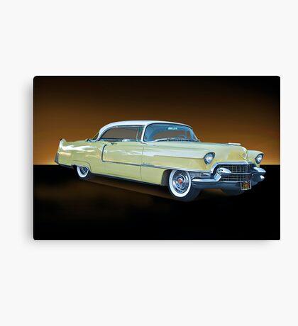 1955 Cadillac Coupe De Ville 116 Canvas Print