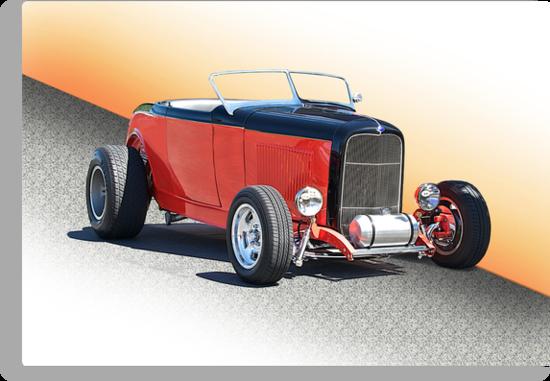 1932 Ford Roadster 115 by DaveKoontz