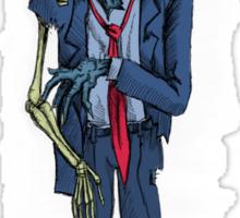 Zombie in a suit Sticker