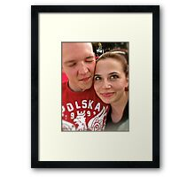 Voices from Heaven. Framed Print