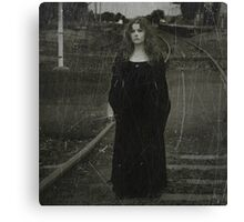 I think I might be lost Canvas Print