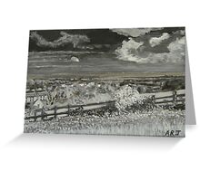 Uphill View Greeting Card