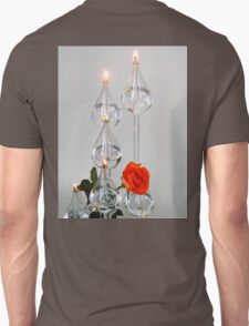 The Oil Lamp and the Rose Unisex T-Shirt