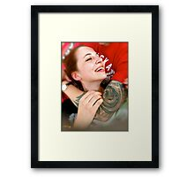 Those are the days of our lives. Tribute to Queen. Framed Print