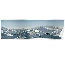 Mountain Panorama Poster