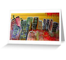 Color My City Greeting Card
