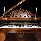 Streicher 1869 Grand Piano by kkmarais
