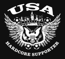 USA Hardcore Supporter by worldcup