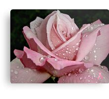 """Rainy Day Rose of Love"" Metal Print"