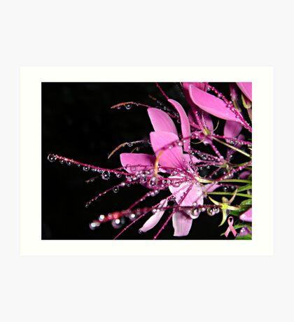 """Jeweled Raindrops Of Hope"" Art Print"