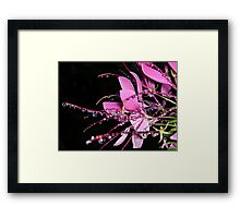 """Jeweled Raindrops Of Hope"" Framed Print"