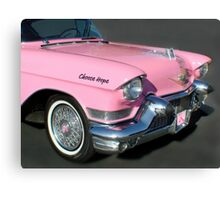 """""""Pink Cadillac For The Cure"""" Canvas Print"""