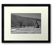 Skeleton Forest Framed Print